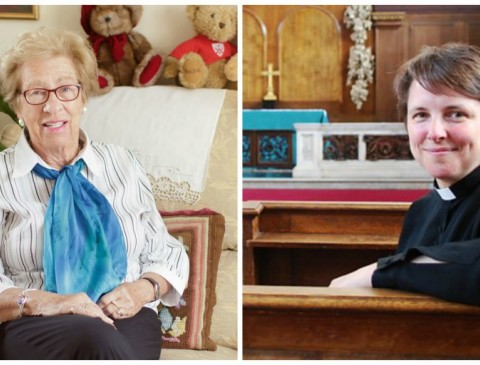 Eva Schloss and Revd Lucy Winkett's picture