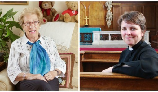 Eva Schloss and Revd Lucy Winkett's picture